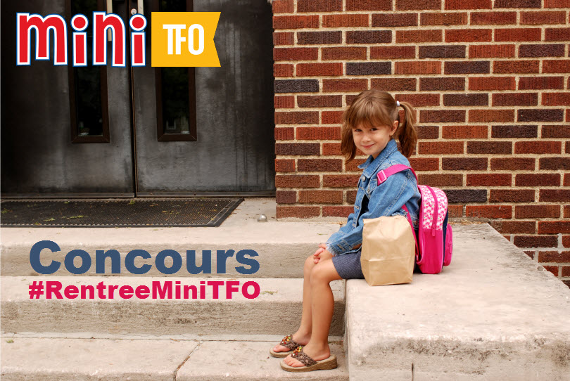 Contest - First day of school Concours rentrée TFO