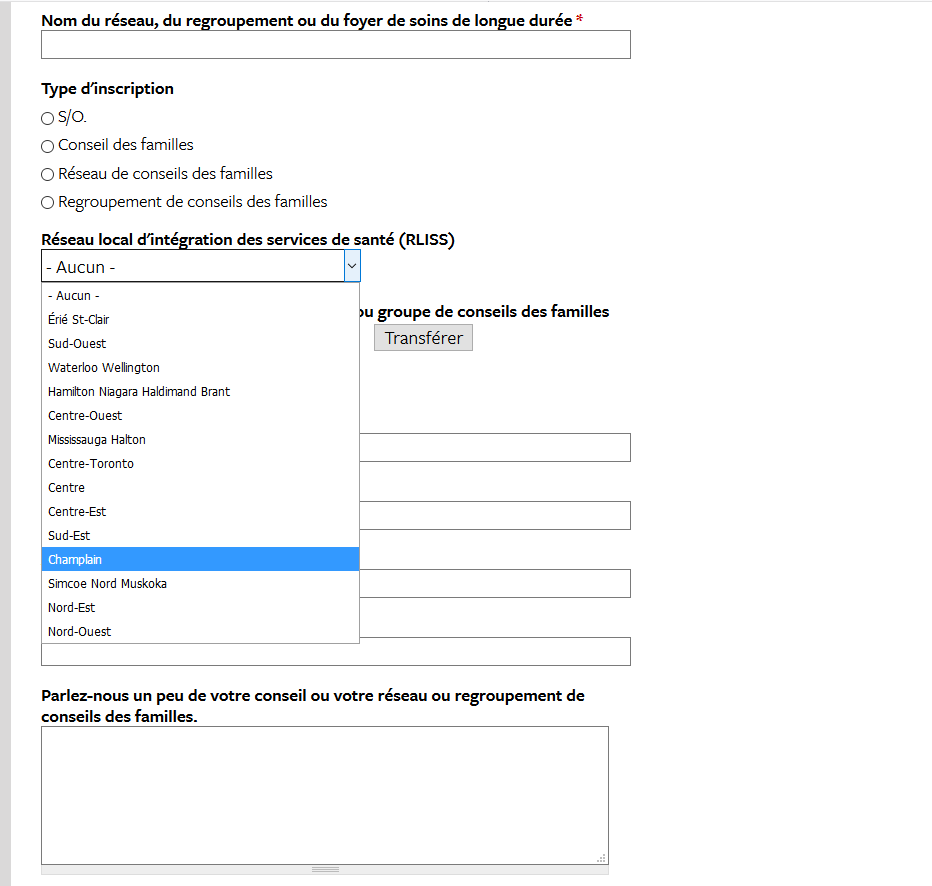 One of the online forms found on the FCO website.